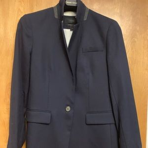 Jcrew Navy Wool Blazer Size 6